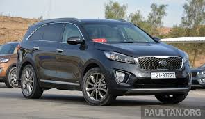 third gen kia sorento coming to malaysia in may 2016