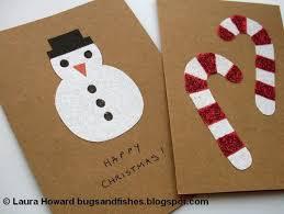 image gallery homemade christmas cards