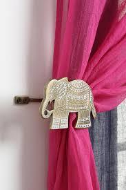 Elephant Curtains For Nursery Elephant Decorations Home Decor Chevron Curtain Tie Backs Amazing