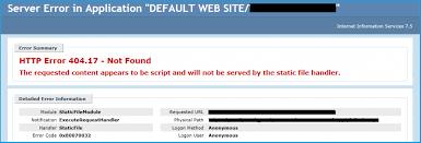 erro 404 no encontrado geapcombr http error 404 17 not found static file handler