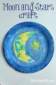 paper plate moon ramadan craft ramadan crafts moon crafts and