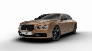 bentley flying spur 2 door bentley spruces up the flying spur with design series by mulliner