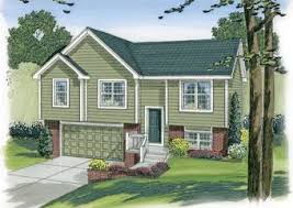 Split Level House Plan Split Level House Plans Advanced House Plans
