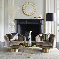 small globo clear and brass box modern decor jonathan adler