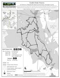 Raccoon Creek State Park Map by Franklin Parker Preserve Of New Jersey Conservation Foundation