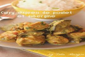 chrono cuisine cuisine poulet beautiful un curry express au poulet et aubergine en