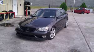 lexus altezza stock my 02 sports design is300 few mods lexus is forum