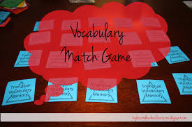high math adventures with mrs b vocabulary match game