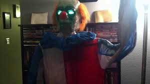 spirit halloween clown costumes spirit halloween animated evil clown youtube