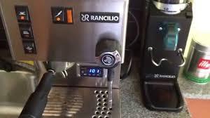 Rancilio Rocky Coffee Grinder Making A Espresso With A Rancilio Silvia W Pid And Rancilio Rocky
