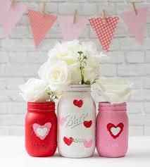 Valentine Bathroom Decor Red Daisy Flower Fish Bowl Vase Wedding Table Decorating Ideas