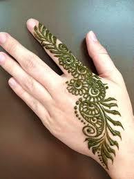 henna mehendi design hand art pretty simple mehendi