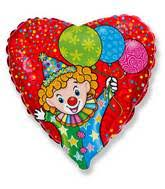 balloons clown bargain balloons clown 2fcircus mylar balloons and foil balloons