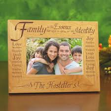 essence of family personalized picture frame