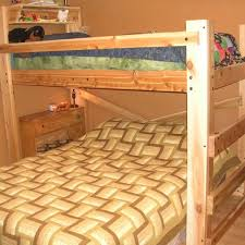 DIY Bunk Bed Plans OP Loftbed - Queen bunk bed plans
