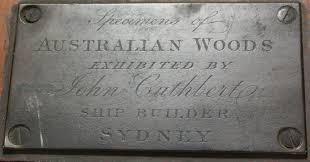 Timber Samples Australian John Cuthbert Pre 1866