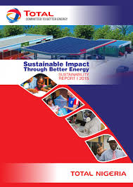 total nigeria plc sustainability report 2015 by totalnigeriaplc