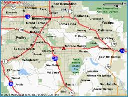 san bernardino ca map riverside san bernardino metro map travel map vacations