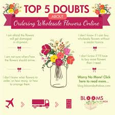 wholesale flowers online top 5 doubts about ordering wholesale flowers online