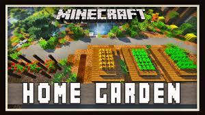 minecraft backyard home garden design modern house tutorial ep