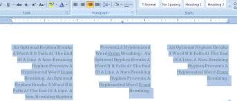 microsoft office word 2007 resume builder align text in a column columns documentation microsoft