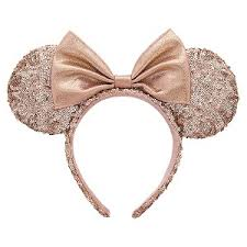 gold headband your wdw store disney ears headband minnie gold ears with bow
