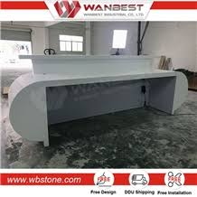 L Shaped Reception Desk Counter 2017 Solid Surface Semi Circle Reception Desk L Shaped Reception