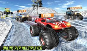 monster truck racing game pvp android apps google play