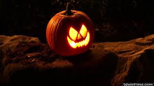 Halloween Desktop Wallpapers Free Download Wallpaper Single Scary Pumpkin Wallsfield Com Free Hd Wallpapers