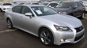 used lexus diesel for sale pre owned silver 2013 lexus gs 350 awd technology plus package