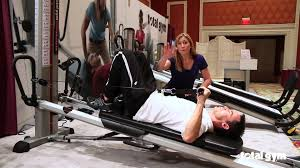 total gym applications for physical therapy shoulder youtube