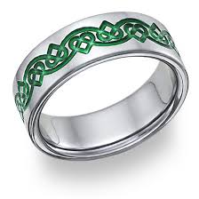 celtic wedding bands celtic heart knot wedding band