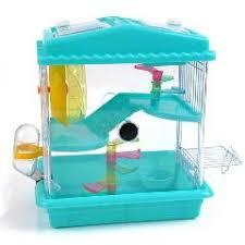 Hamster Bed Jaula Conejo Hamster Cage Kit Acrylic Double Deluxe Villa Small