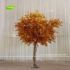 gnw btr035 best price maple tree artificial golden leaf autumn