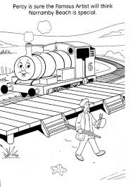 thomas tank engine coloring sheets archives