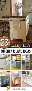 kitchen island cabinet design 23 best diy kitchen island ideas and designs for 2021