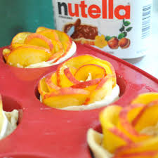 Peach Roses Cooking With Manuela Peach Roses With Nutella And Hazelnuts