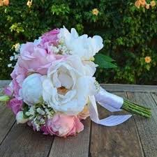 Silk Wedding Flowers Silk Peony Arrangement Foter