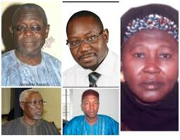 Cabinet President Gambia Breaking News Five Prominent Gambians Named In President