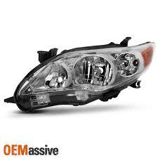 2011 toyota corolla brake light bulb 2011 2012 2013 toyota corolla driver left side headlight clear