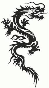 the 25 best tribal dragon tattoos ideas on pinterest dragon
