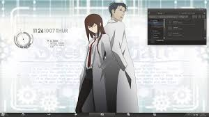 theme bureau windows steam community steins gate windows 7 theme