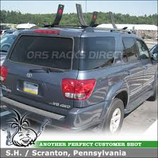 roof rack for toyota sequoia toyota sequoia roof rack stand up paddle board luggage kayak