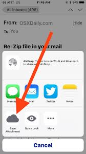 How To Upload A Resume To Indeed How To Save Email Attachments On Iphone U0026 Ipad Mail To Icloud Drive