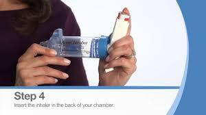 chambre d inhalation aerochamber spacer device aerochamber plus chambre d inhalation avec masque bleu