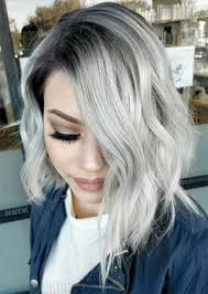 make up tips for salt and pepper hair silver hair trend 51 cool grey hair colors tips for going gray