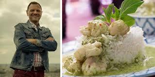la cuisine de fred leçon de chef la recette du curry vert de lotte par fred