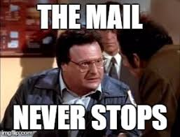 Mail Meme - newman ism 6 imgflip