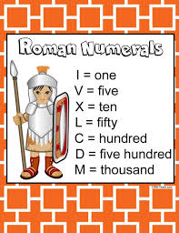 chsh teach roman numerals teaching resources worksheets flash cards