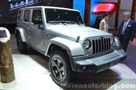 jeep black 2015 jeep wrangler black edition ii 2015 geneva live